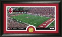Indiana University Stadium Bronze Coin Panoramic Photo Mint