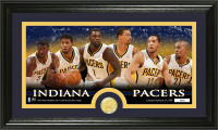 "Indiana Pacers ""Team Force"" Bronze Coin Panoramic Photo Mint"