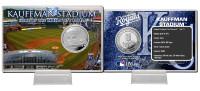 Kauffman Stadium Silver Coin Card