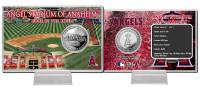 Angels Stadium Silver Coin Card