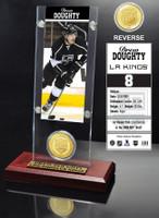 Drew Doughty Ticket and Bronze Coin Desktop Acrylic