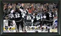 LA Kings 2014 Stanley Cup Champions Celebration Signature Rink