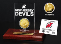 New Jersey Devils Etched Acrylic Desktop