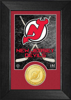 New Jersey Devils Bronze Coin Mini Mintt