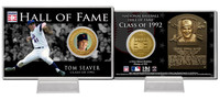 Tom Seaver Class of 1992 Hall of Fame Bronze Coin Card