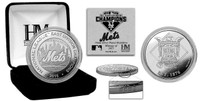 New York Mets 2015 Division Champions Silver Mint Coin