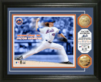 Jacob DeGrom 2014 NL ROY Gold Coin Photo Mint