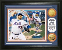 Matt Harvey Gold Coin Photo Mint