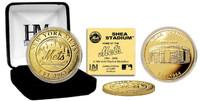 SHEA STADIUM GOLD COIN
