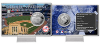 Yankee Stadium Silver Coin Card