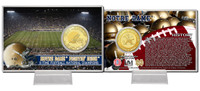 University of Notre Dame 11-Time National Champions Bronze Coin Card