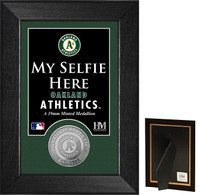 Oakland A's Selfie Minted Coin Mini Mint