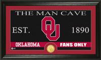 University of Oklahoma Man Cave Bronze Coin Panoramic Photo Mint