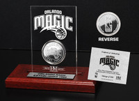 Orlando Magic 24KT Gold Coin Etched Acrylic