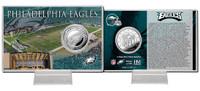 Philadelphia Eagles Silver Coin Card