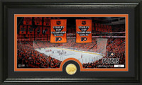 Philadelphia Flyers Traditions Bronze Coin Panoramic Photo Mint