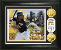 Andrew McCutchen Gold Coin Photo Mint