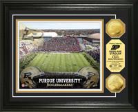 Purdue University Stadium Gold Coin Photo Mint