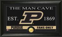 Purdue University Man Cave Bronze Coin Panoramic Photo Mint