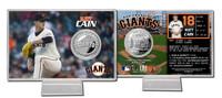 Matt Cain Silver Coin Card