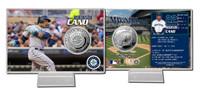 Robinson Cano Silver Coin Card