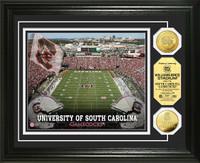 University of South Carolina Stadium Gold Coin Photo Mint