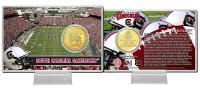 University of South Carolina  Bronze Coin Card