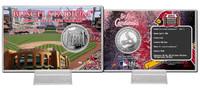 Busch Stadium Silver Coin Card