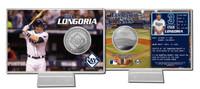 Evan Longoria Silver Coin Card