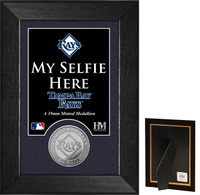 Tampa Bay Rays Selfie Minted Coin Mini Mint