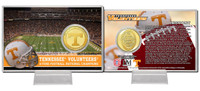 University of Tennessee Bronze Coin Card