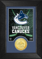 Vancouver Canucks Bronze Coin Mini Mint