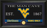 West Virginia University Man Cave Bronze Coin Panoramic Photo Mint