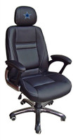 Dallas Cowboys Head Coach Leather Office Chair