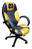 Notre Dame Commissioner Leather Office Chair