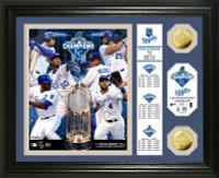 "Kansas City Royals 2015 World Series Champions ""Banner"" Gold Coin Photo Mint"
