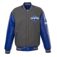 **Kansas City Royals 2015 World Series Champions Reversible Wool Jacket