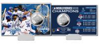 *Kansas City Royals 2015 World Series Champions Silver Coin Card