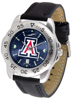 Arizona Wildcats Sport Leather AnoChrome Watch (Men's or Women's)