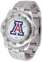 Arizona Wildcats Sport Stainless Steel Watch (Men's or Women's)