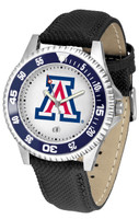 Arizona Wildcats Competitor Leather Watch (Men's or Women's)