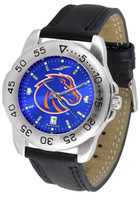 Boise State Broncos Sport Leather AnoChrome Watch (Men's or Women's)