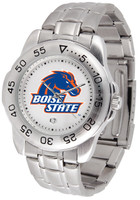 Boise State Broncos Sport Stainless Steel Watch (Men's or Women's)