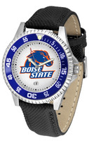 Boise State Broncos Competitor Leather Watch (Men's or Women's)