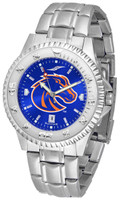 Boise State Broncos Competitor Stainless Steel AnoChrome Watch (Men's or Women's)