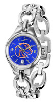 Boise State Broncos Ladies Silver Eclipse AnoChrome Watch
