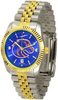 Boise State Broncos Executive  2-Tone 23k Gold AnoChrome Stainless Steel Watch (Men's or Women's)