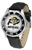 Colorado Buffaloes Competitor Leather Watch (Men's or Women's)