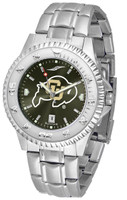 Colorado Buffaloes Competitor Stainless Steel AnoChrome Watch (Men's or Women's)