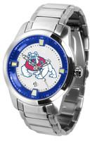 Fresno State Bulldogs Titan Stainless Steel Watch